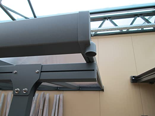 hochwertige alu terrassen berdachung veranda 420 x. Black Bedroom Furniture Sets. Home Design Ideas