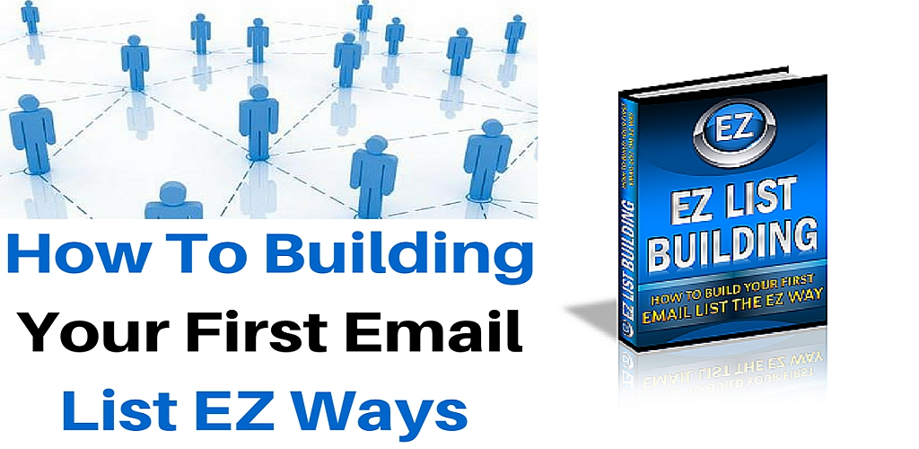 Amazon.com: EZ List Building How to Build Your First Email List ...