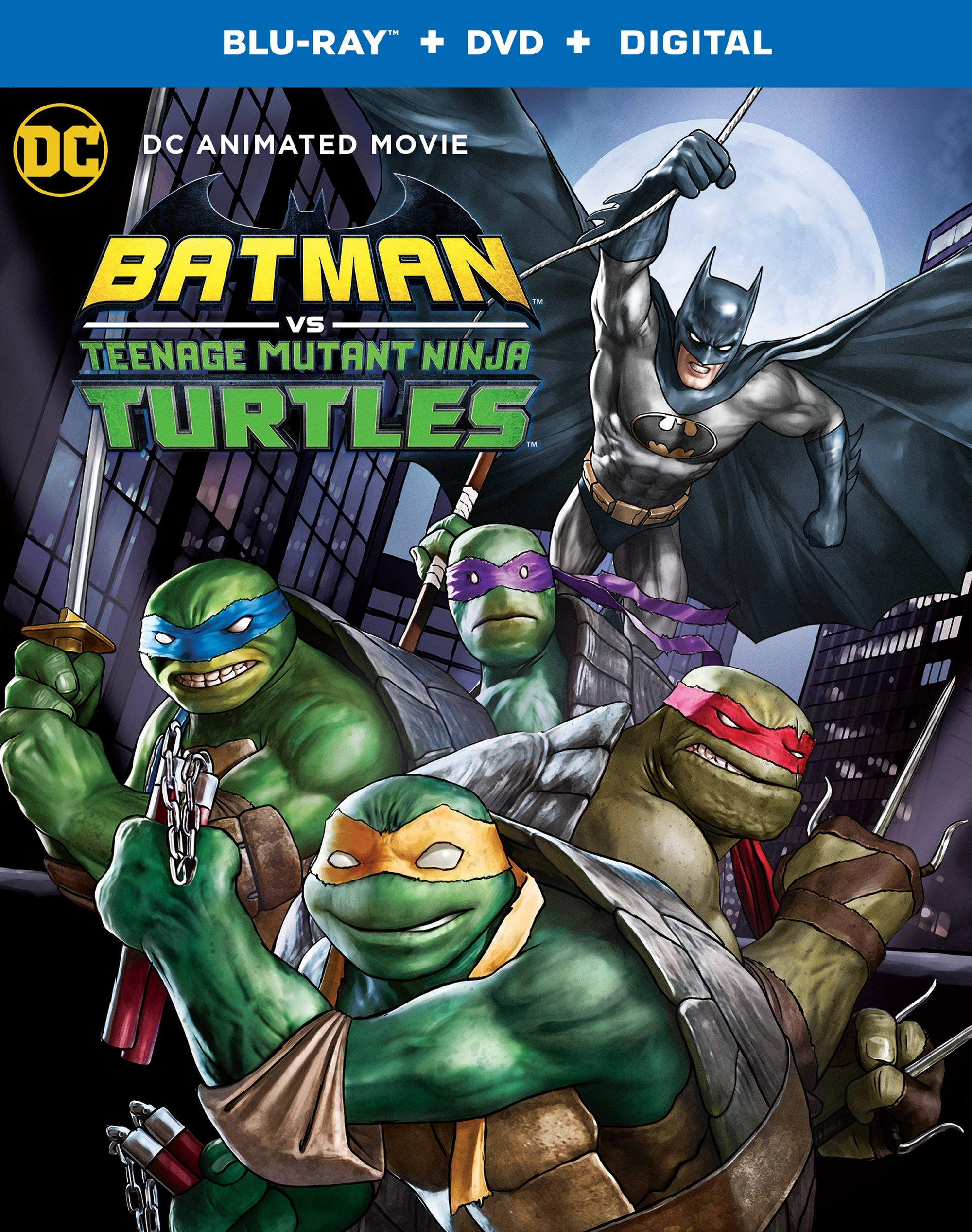 Batman Vs Ninja Turtles