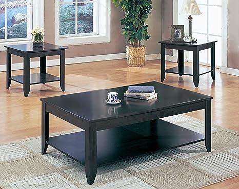 CAPPUCCINO 3PCS TABLE SET (SIZE: 48L X 30W X 18H)