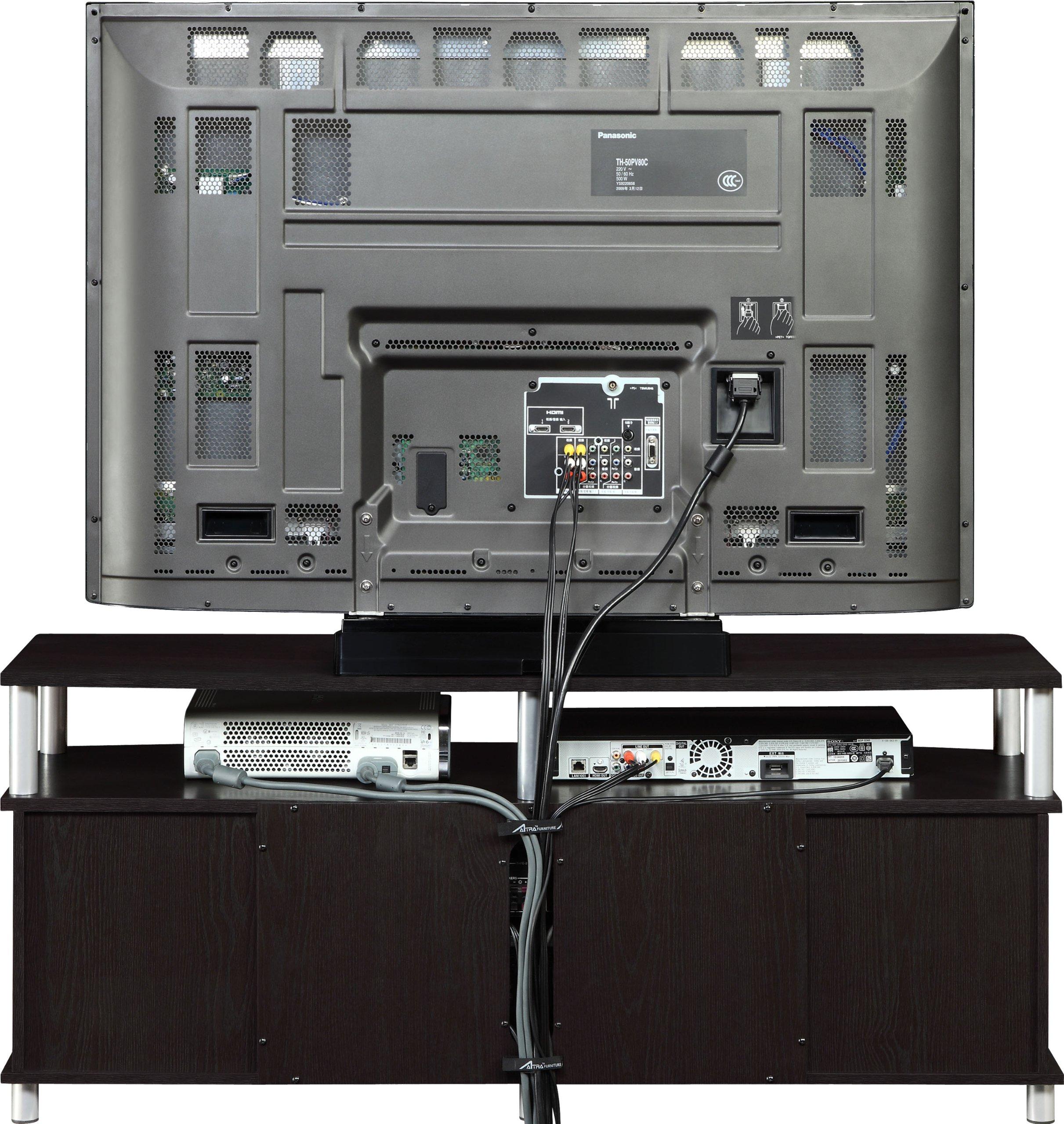 Altra Furniture Carson 48 Inch Tv Stand Espresso Furniturendecor Com