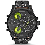 Diesel DZ7311 Mens SBA Mr. Daddy 2.0 Black Camo Watch (Color: black)