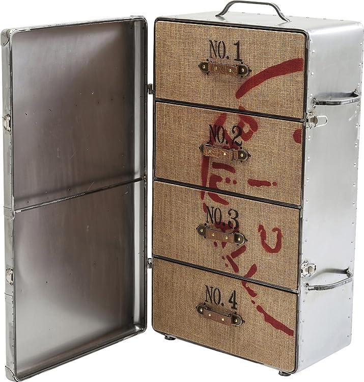 Kare Suitcase congelatore valigia, Altro, Argento, 30x 50x 96cm