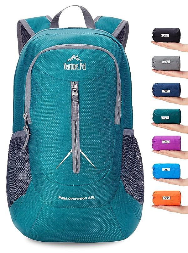 2d071397a7c4 Venture Pal 25L - Durable Packable Lightweight Travel Hiking Backpack  Daypack Small Bag for Men Women Kids ...