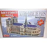 Notre-Dame de Paris 3D puzzle 124 pieces by Charmland