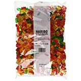 Haribo Gummi Candy Gold-Bears New Value Size Package 10-Lb (2Pk X 5 LB) (Color: mix, Tamaño: 10 Lbs)