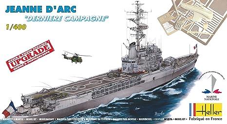Heller - 81030 - Maquette Militaire - Bateau - Jeanne D'arc Dernière Campagne - Echelle 1/400