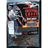 """Creeping Ghost"" Carolina Reaper Beef Jerky (1)-3oz Bag The Reaper is the HOTTEST Pepper in the world! Sweet with Heat~ (Tamaño: 3 Ounces)"