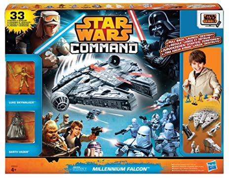 Star Wars Command – A8949 – Millennium Falcon – 7 Véhicules + 24 Figurines