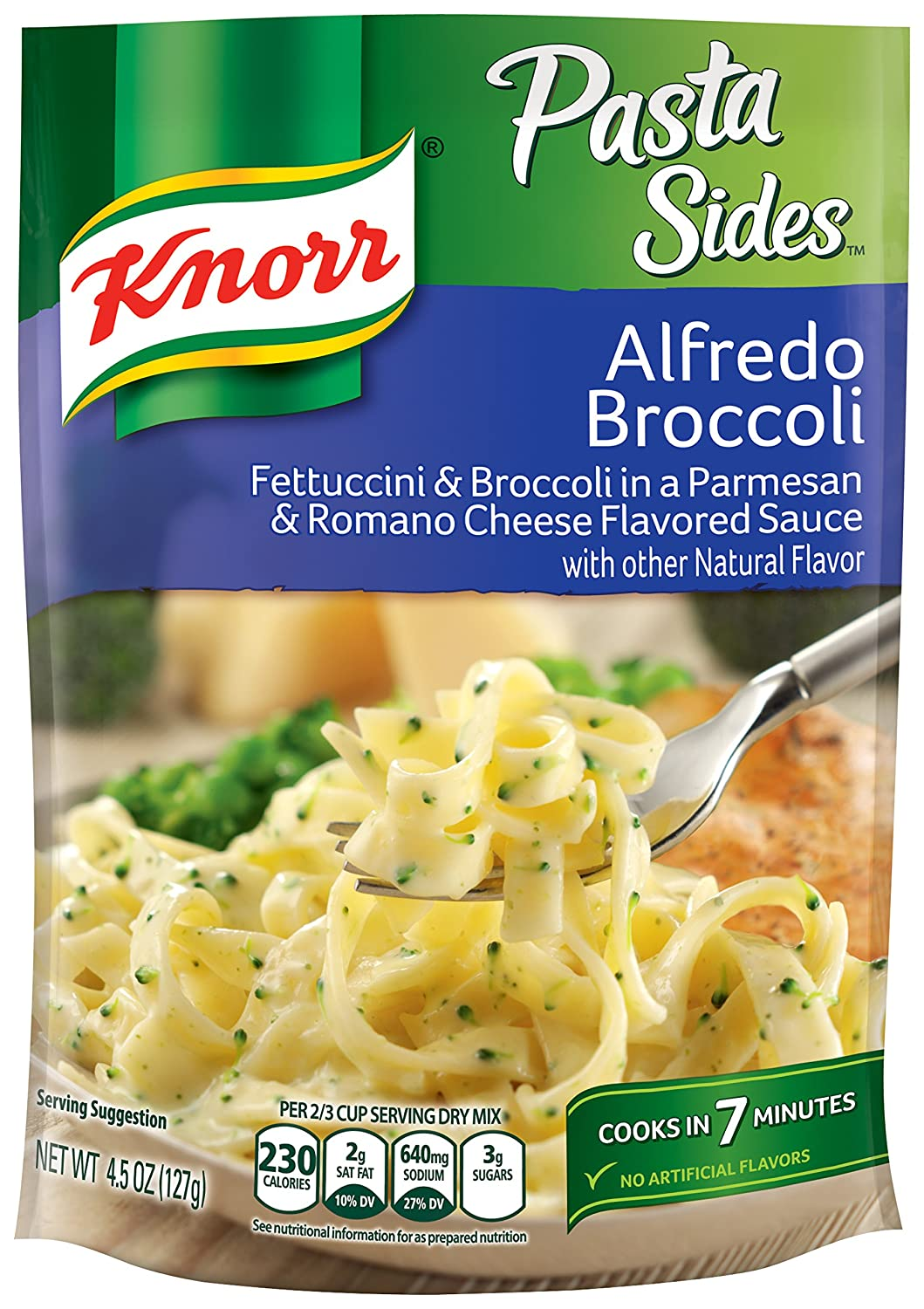 Knorr Pasta Sides, Alfredo Broccoli, 4.5 Ounce