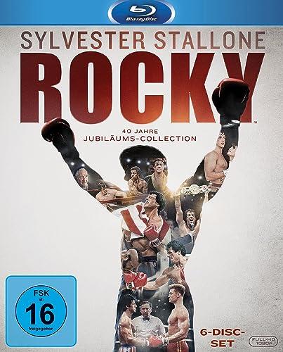 Rocky The Complete Saga Blu Ray