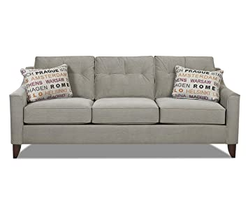 Klaussner Battleship Audrina Sofa, 88 by 37 by 31-Inch