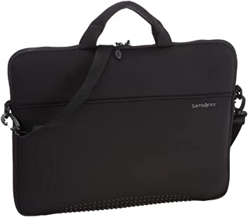 Samsonite Aramon2 Shuttle Shoulder Bag (Black) For 17 Inch Laptop 55