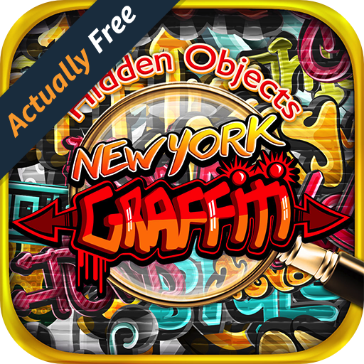 Hidden Object New York Graffiti - Pic Puzzle Photo Differences Objects Seek & Find Game FREE (New York Pics compare prices)