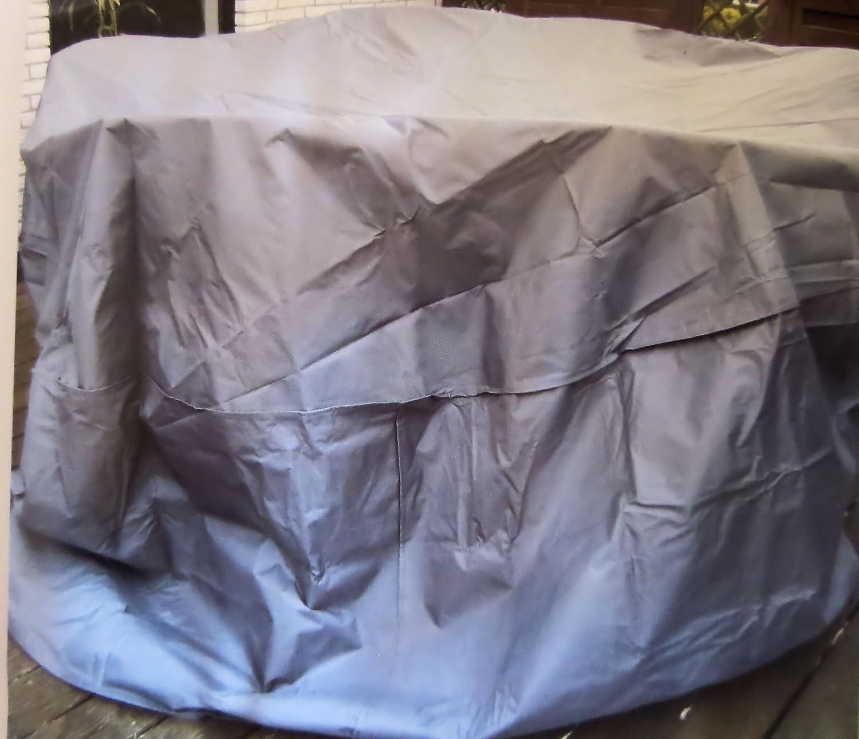Schutzhülle für Sitzgruppen 95 x 200 cm Abdeckung Plane Schutzhaube aus robusten 420 D Gewebe