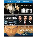 Martin Scorsese Triple Feature (Goodfellas / The Aviator / The Departed) [Blu-ray] (Color: color)