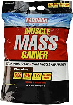 Labrada Muscle Mass Gainer High Calories-Chocolate