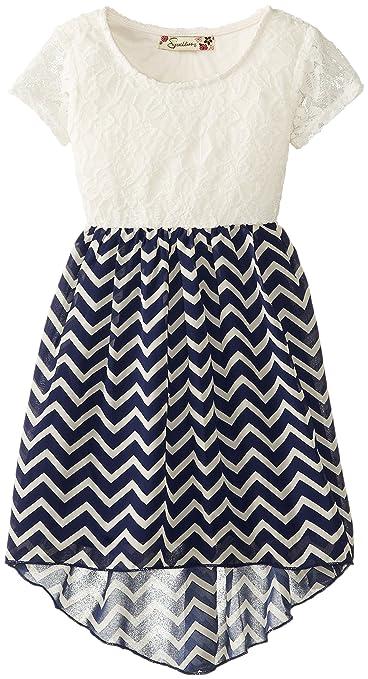 Speechless-Little-Girls-Lace-To-Chevron-Chiffon-Dress