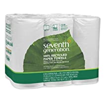 White 2-ply 140-sheet Rolls 6-Count