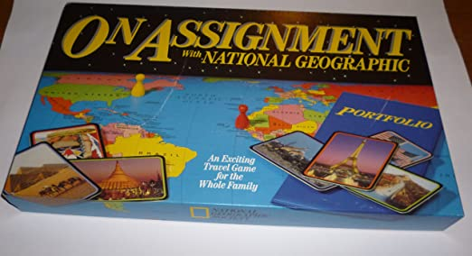How does the National Geographic assignment process work