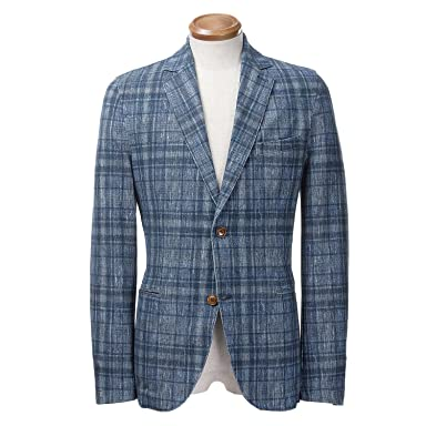 Circolo 1901 Stretch Cotton Jacket: Blue