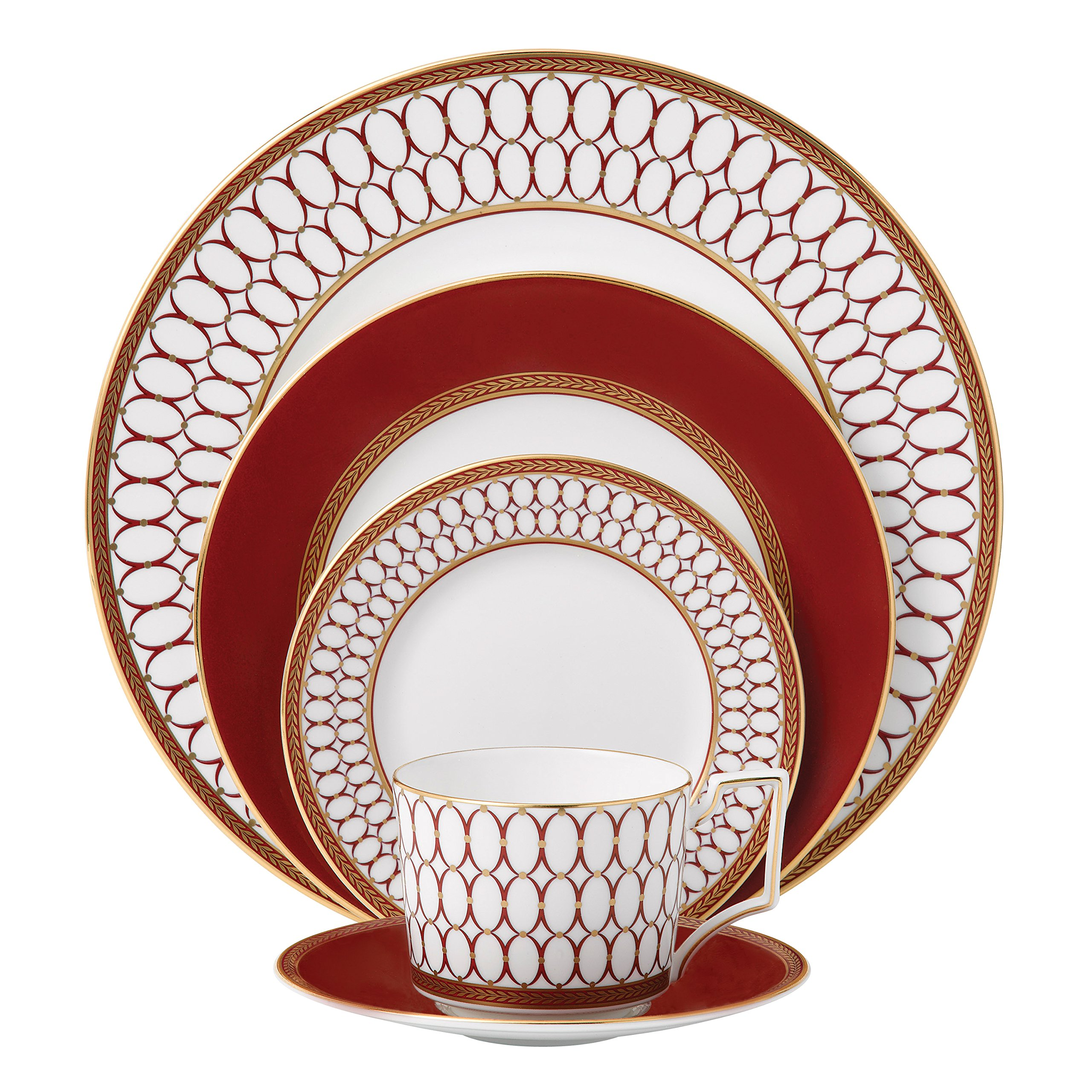 Renaissance Red Place Setting