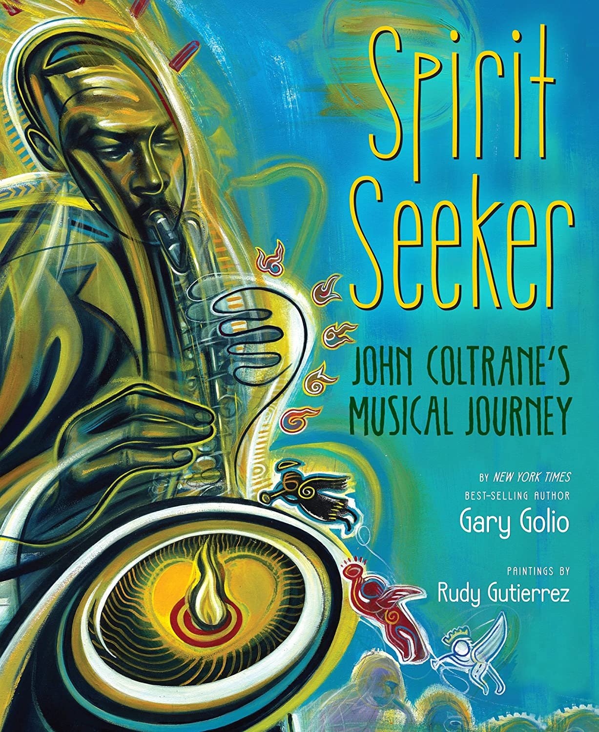 Spirit Seeker: John Coltrane's Musical Journey Book  #kidlit  #jazz