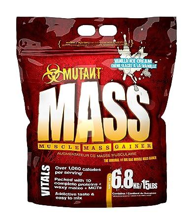 PVL Mutant Mass Vanilla Ice Cream, 1er Pack (1 x 6.8 kg)