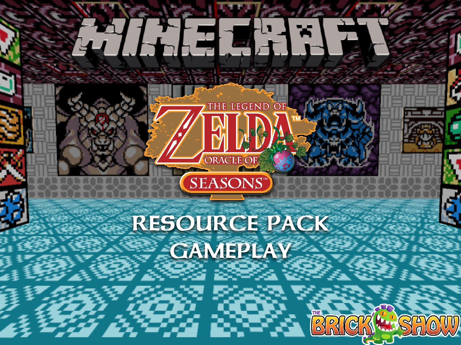 Clip: Minecraft The Legend Of Zelda Oracle Of Seasons Resource Pack Gameplay