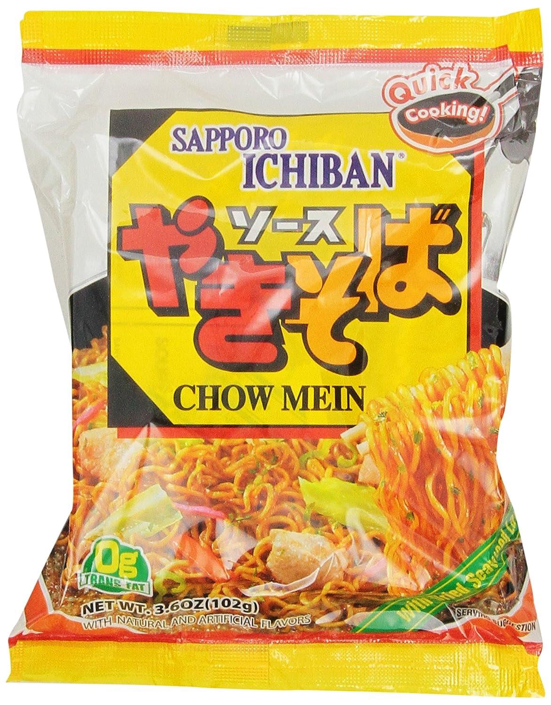 Sapporo Ichiban Chow Mein Yakisoba, 3.60 Ounce