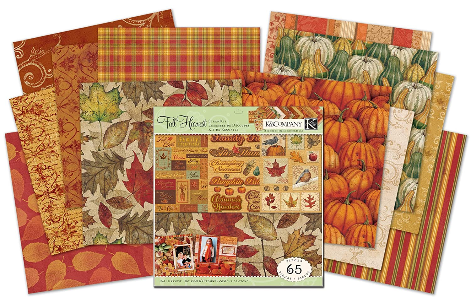 Scrapbook paper examples - Recreate The Fantastic Paper Crafts Shown Here Or Use These Examples To Inspire Your Own Ideas 12 By 12 Inch Kit Includes 12 Designer Papers