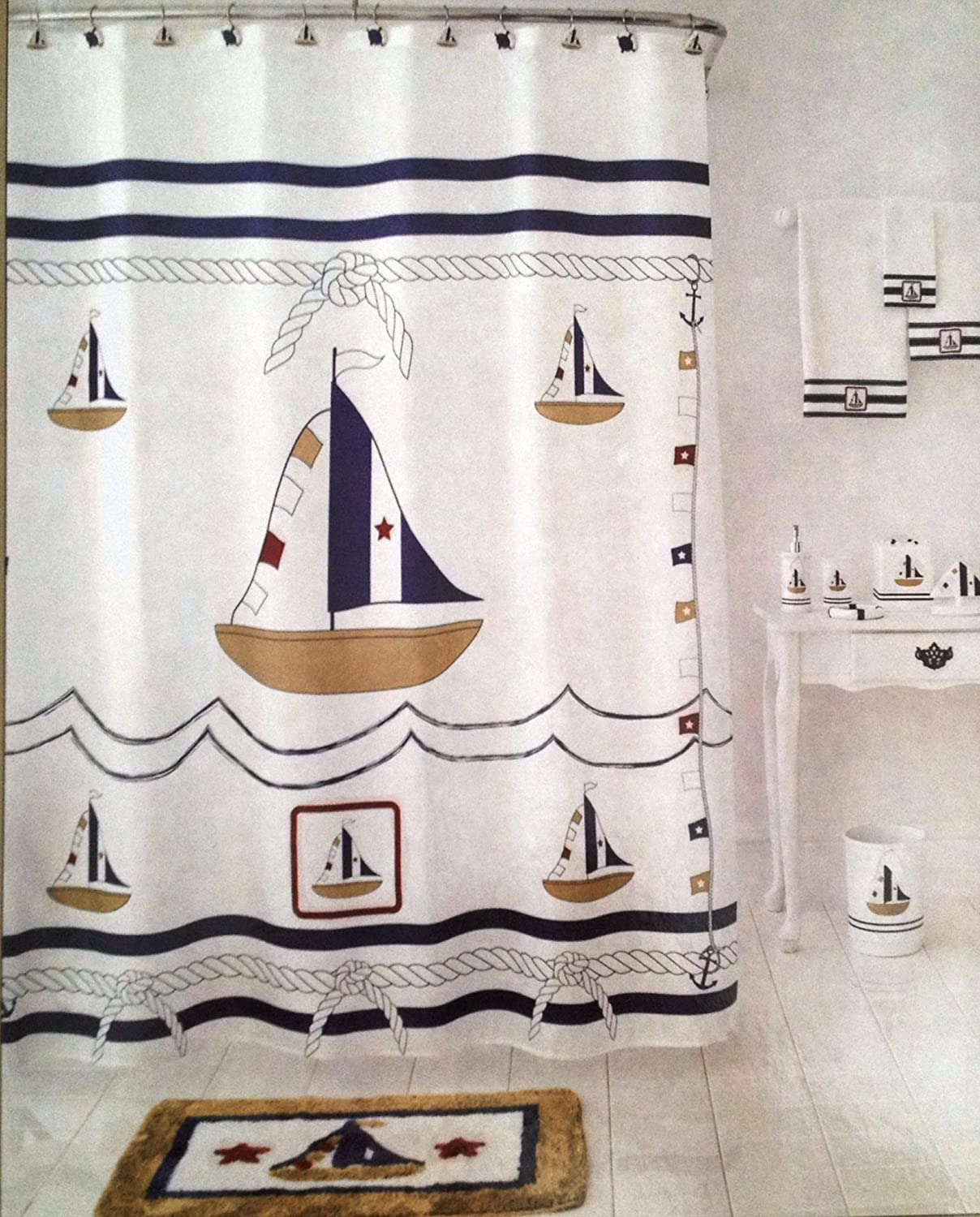 Nautical Bathroom | Nautical Decorations