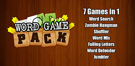 Word Games Pack - 7 in 1 Bundle