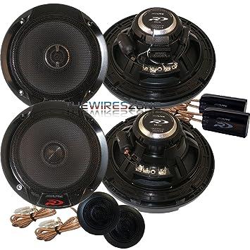 Alpine SPR 60 6 1 2 Coaxial 2 Way Type R Speaker Set