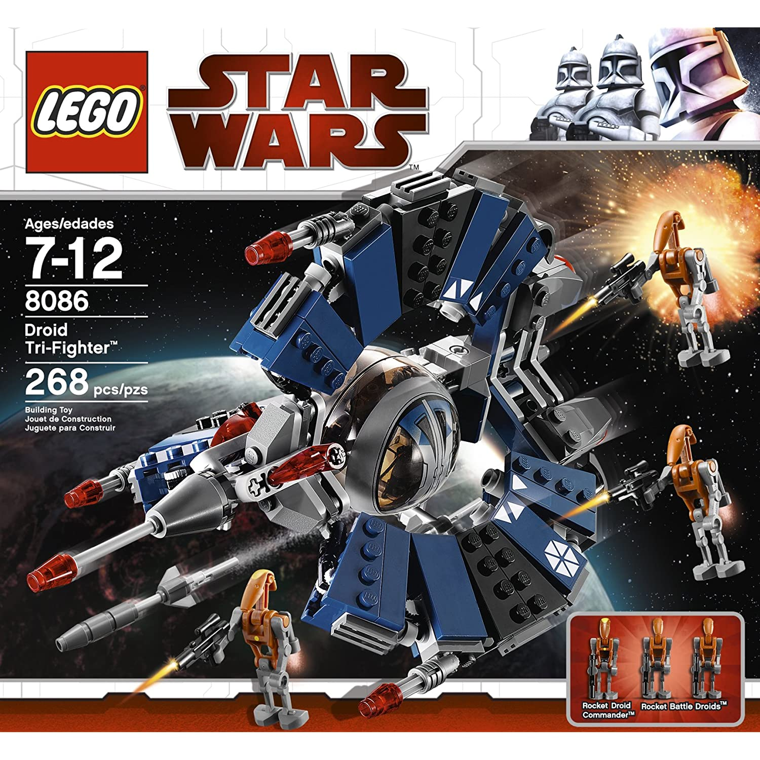LEGO Star Wars Trifighter Droid (8086) - 1