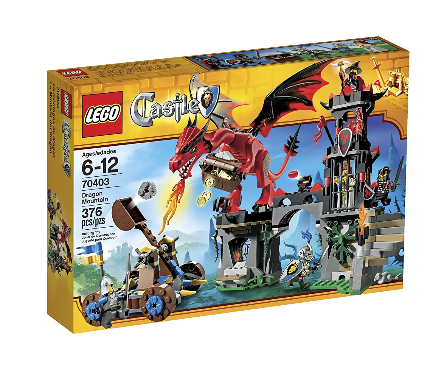 Amazon - Lego Castle Dragon Mountain - 70403 - $32.99
