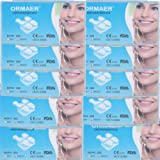 Orthodontic Brackets Roth 0.022 Slot with 3 4 5 hooks Clear Mesh Below Mini Dental Ceramic Braces 200 pieces 10 Sets