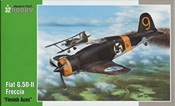 Special Hobby 32044 Fiat G50-11 Finnish 1:32 Plastic Kit Maquette