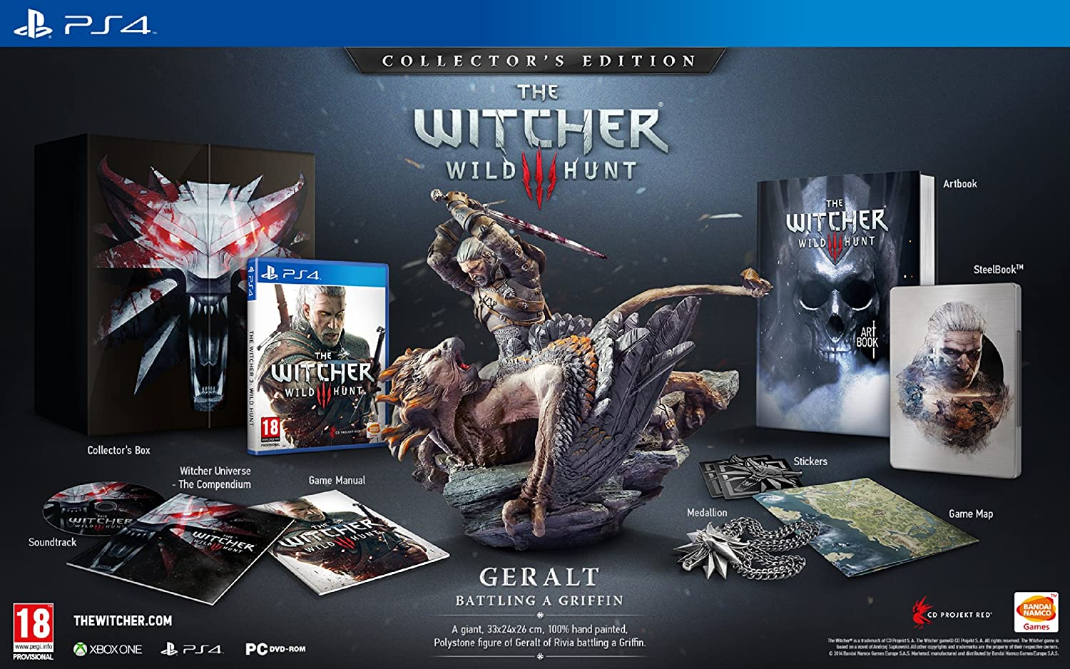 The Witcher 3 : Wild Hunt - édition collector  916p-EI3f-L._SL1500_