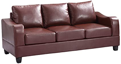 Glory Furniture G620-S Living Room Sofa, Brown
