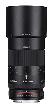 SAMYANG 1112308101 f2,8 objectif (100 mm) pour samsung nX