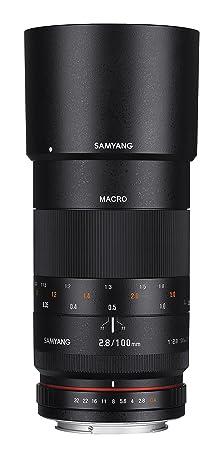 Samyang 100 mm f2.8 connexion pour objectif sony e