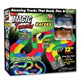 ONTEL Magic Tracks Racer Set Race Car, Multi, 12'