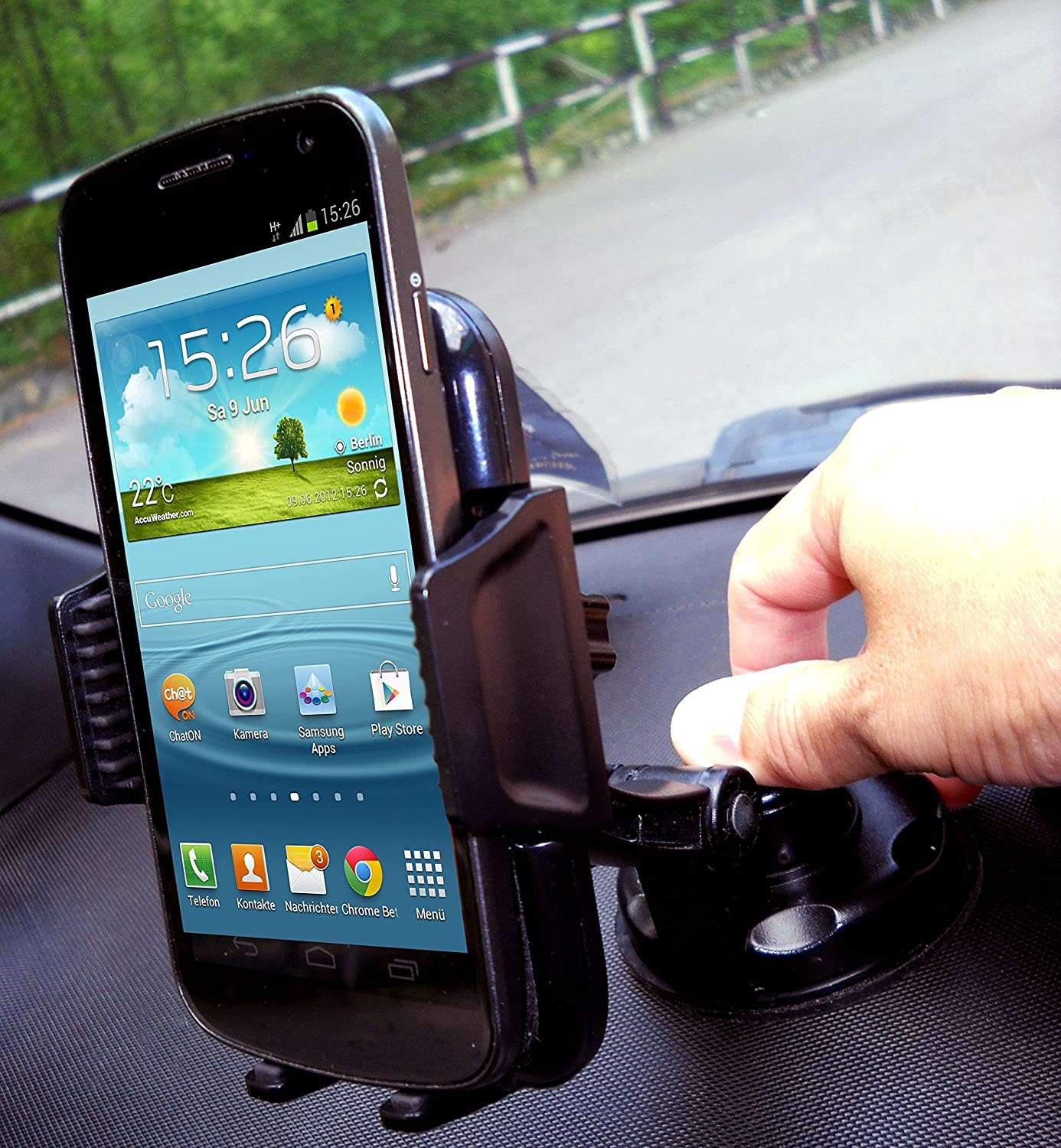 heavy duty phone mount