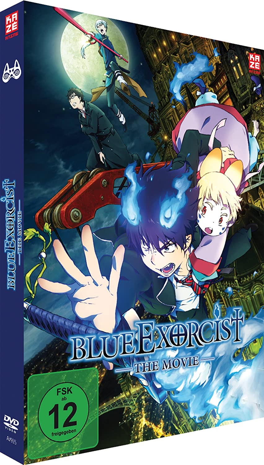 Blue Exorcist - The Movie, DVD