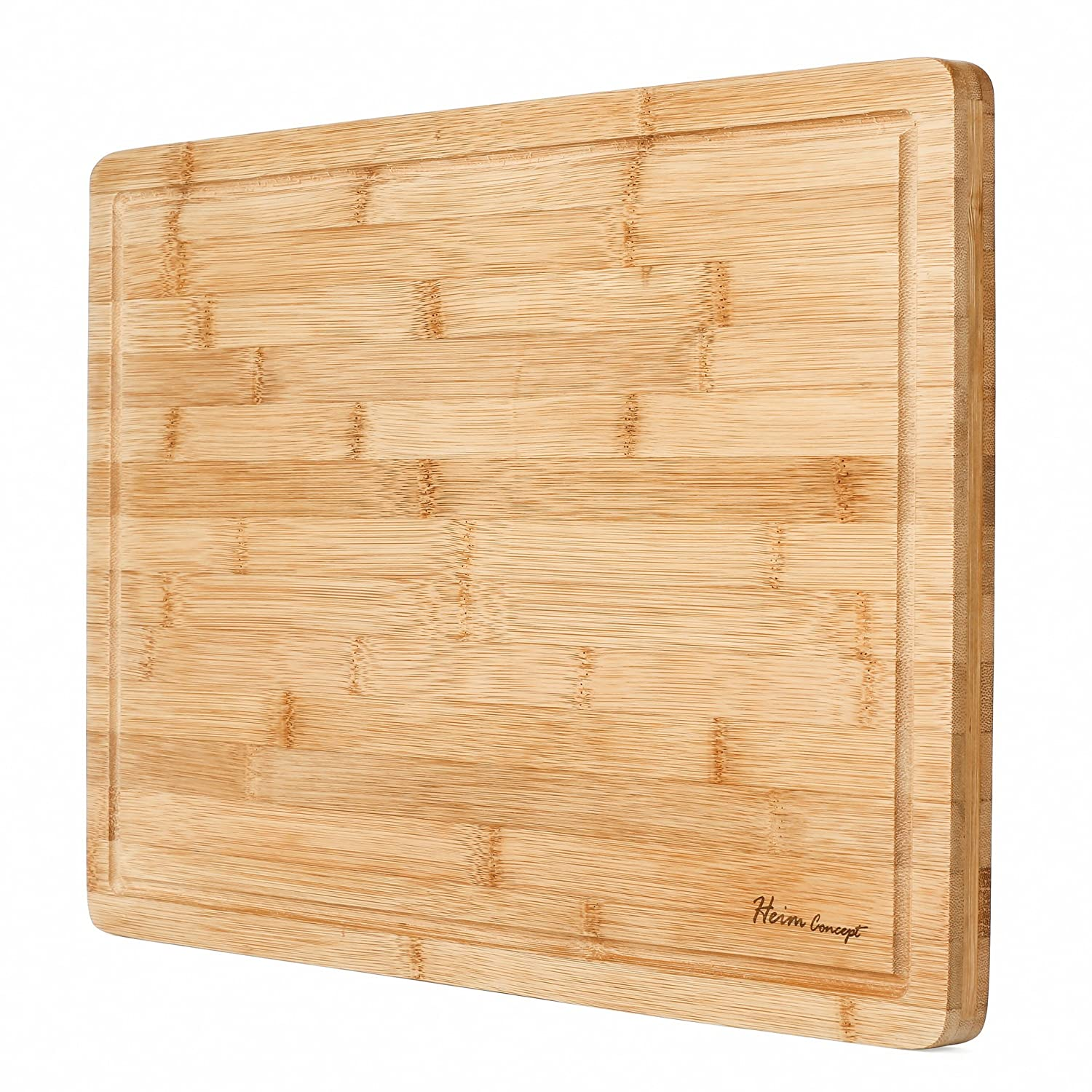 Heim Concept Premium Organic Bamboo Cutting Board Via Amazon