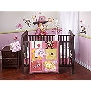 Sumersault Elephant Parade Crib Bedding Collection