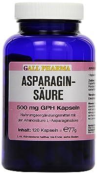 Gall Pharma Asparaginsäure 500 mg GPH Kapseln, 1er Pack (1 x 112 g)