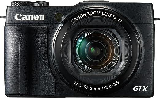 """Canon PowerShot G1X Mark II Appareil photo numérique compact 13 Mpix Écran LCD 3"""" Zoom optique 5X Noir"""