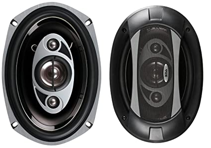 BOSS Audio P69.4C Phantom 800-watt 4 way auto 6' x 9' Coaxial Speaker at amazon
